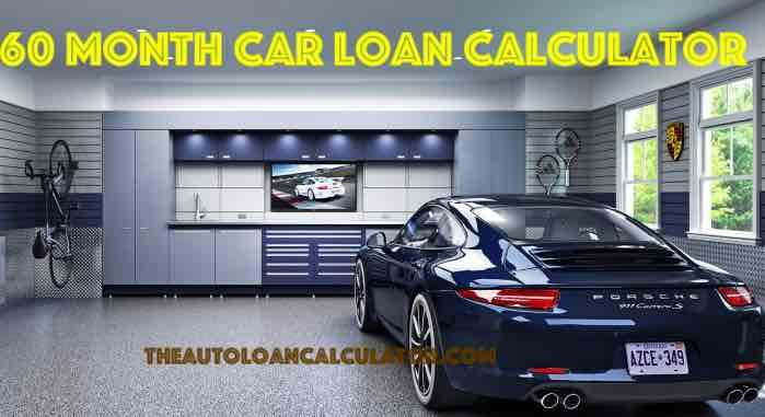 60 Month Car Loan Calculator Auto Loan Calculator