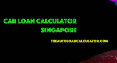 Car Loan Calculator Singapore