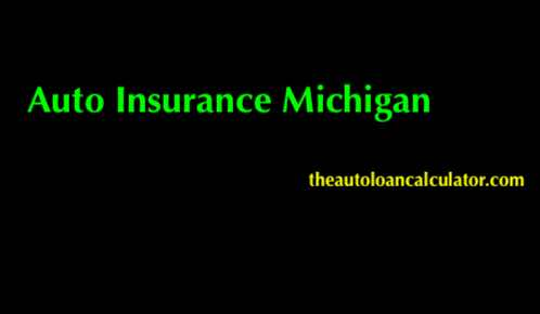 Auto Insurance Michigan