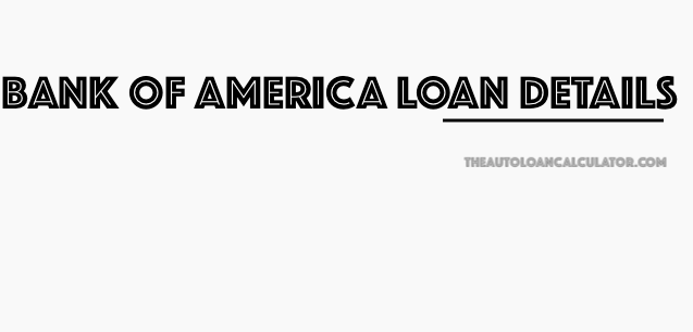 bank of america auto loan