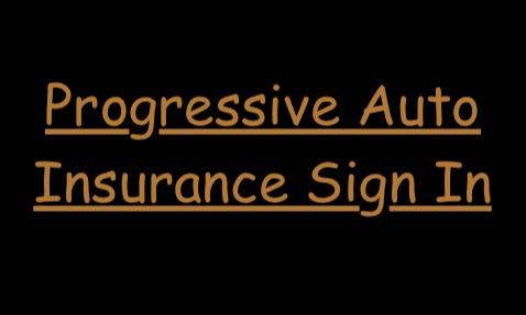 Progressive Auto Insurance Sign In